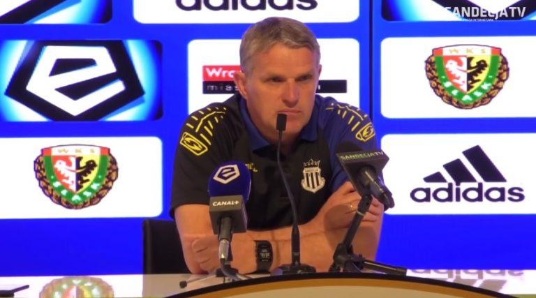 Trener Sandecji po porażce: Sami jesteśmy sobie winni!