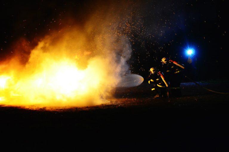 Pracowite święta strażaków