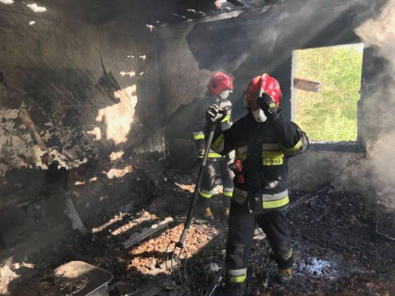 Witowice Dolne: ogień zabrał kolejne życie. Sprawę badał prokurator oraz biegły do spraw pożarnictwa