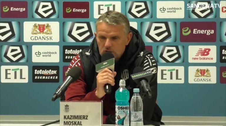 Trener Sandecji po meczu z Lechią: Jesteśmy rozczarowani