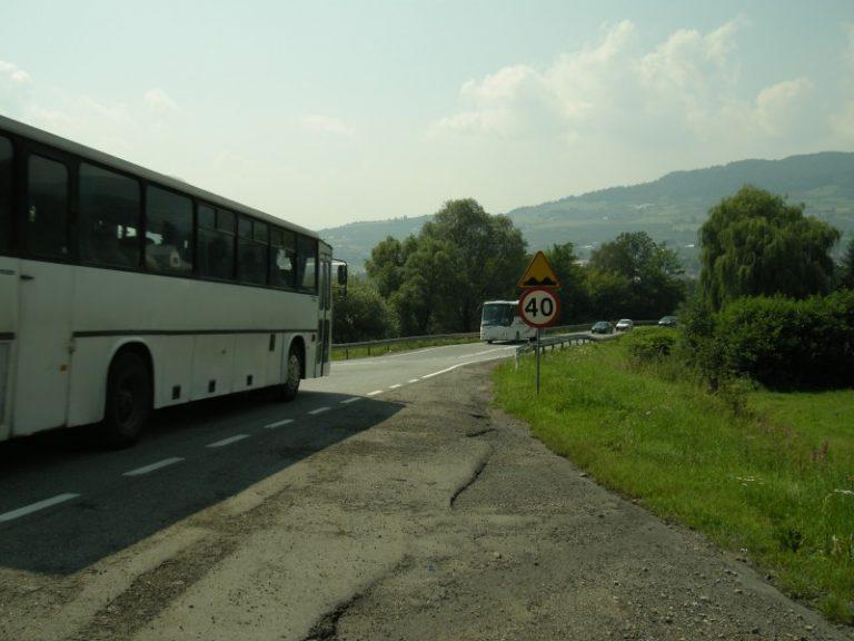 Niebawem zamkną drogę przez Just! Ciężarówki pojadą do Sącza przez… Dębicę?