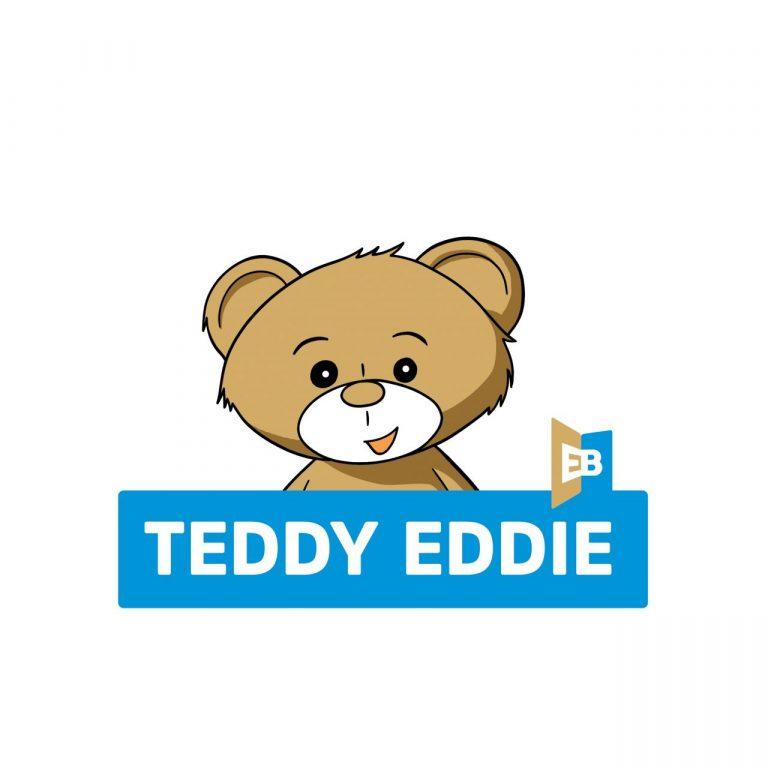 Teddy Eddie uczy dzieci angielskiego i…. ma dla kogoś prezent! Może dla Ciebie?