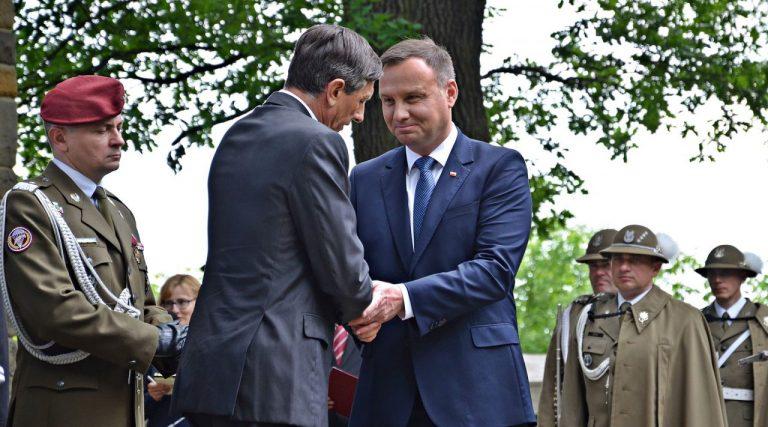 Andrzej Duda w Gorlicach: niech Pan Bóg błogosławi wolną, suwerenną i niepodległą Polskę i Słowenię!