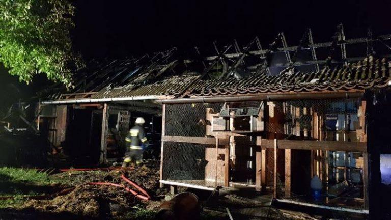 Kolejny pożar stodoły. W akcji 41 strażaków