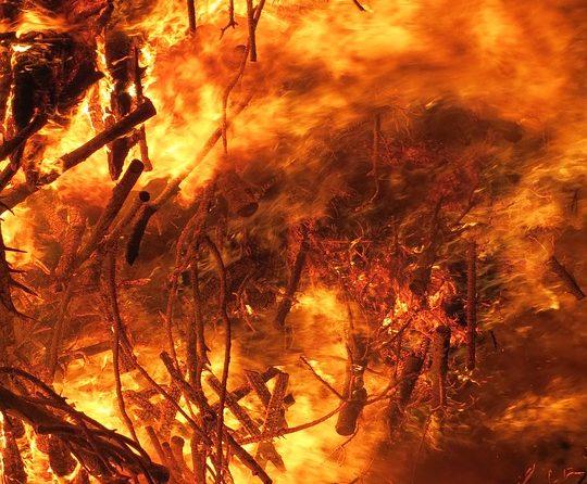 50-letni mężczyzna zginął w płomieniach