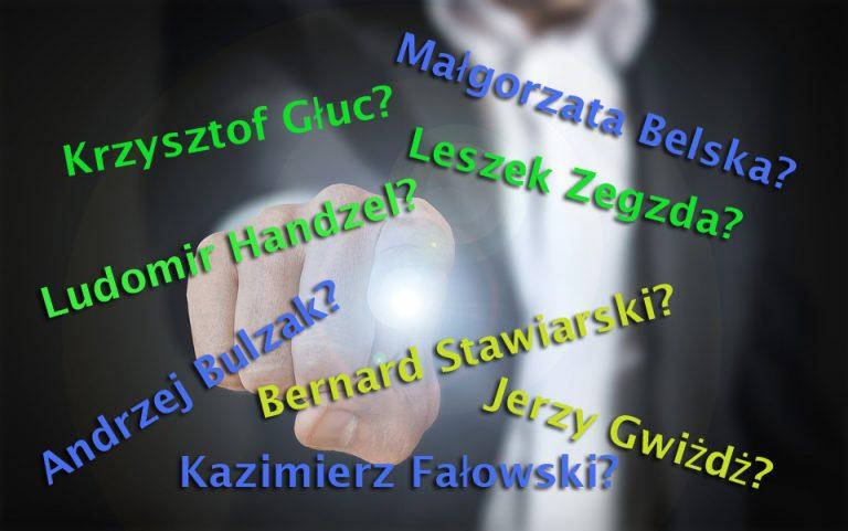 Głuc, Handzel i Zegzda? Kto na prezydenta Nowego Sącza?