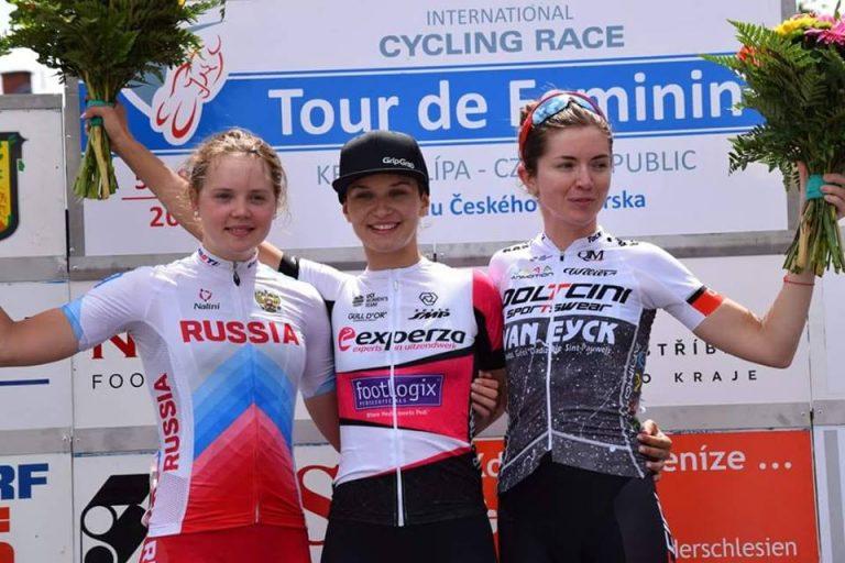 Kolarstwo: sądeczanka wygrała etap w Czechach