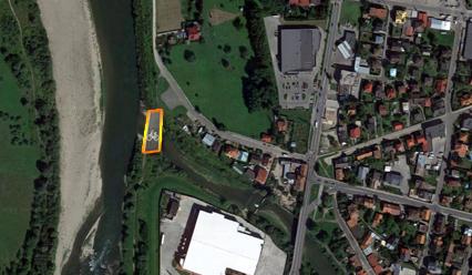Z kładki rowerowej będzie można podziwiać ujście Kamienicy do Dunajca