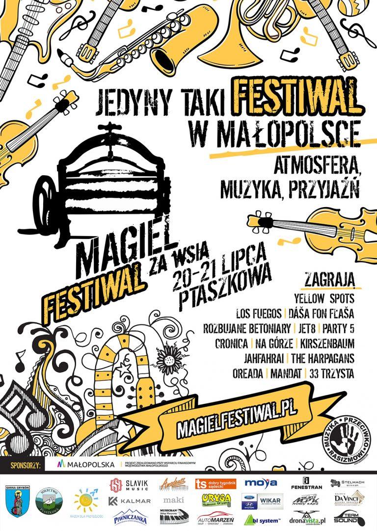 Ptaszkowa, Magiel Festiwal za Wsią. TO JUŻ DZIŚ!