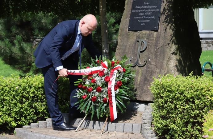 Sandecja upamiętniła wybuch Powstania Warszawskiego