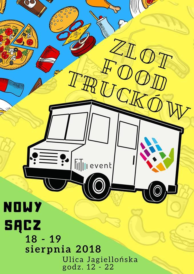 Zapowiada się pyszny weekend – II Zlot Food Trucków w Nowym Sączu!