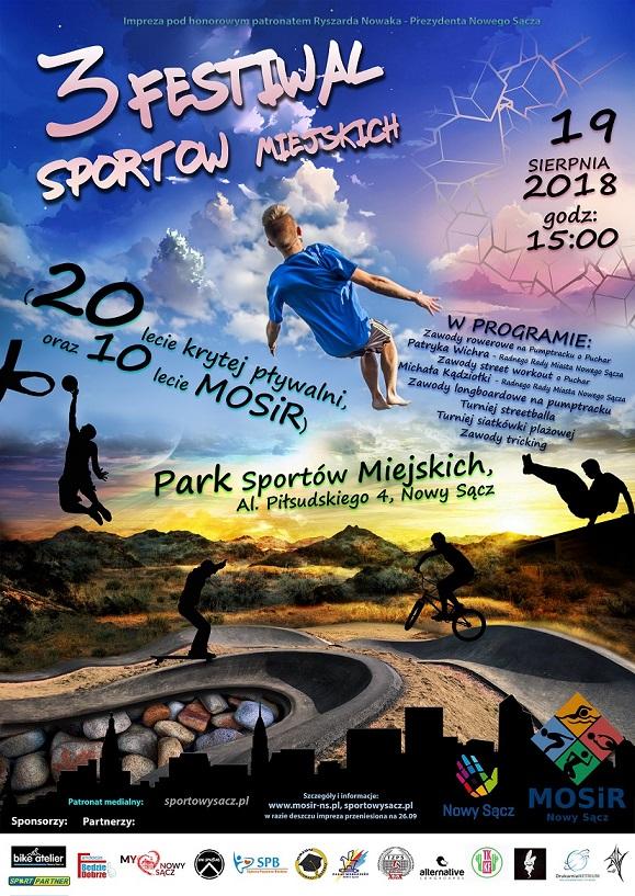 III Festiwal Sportów Miejskich już 19 sierpnia!