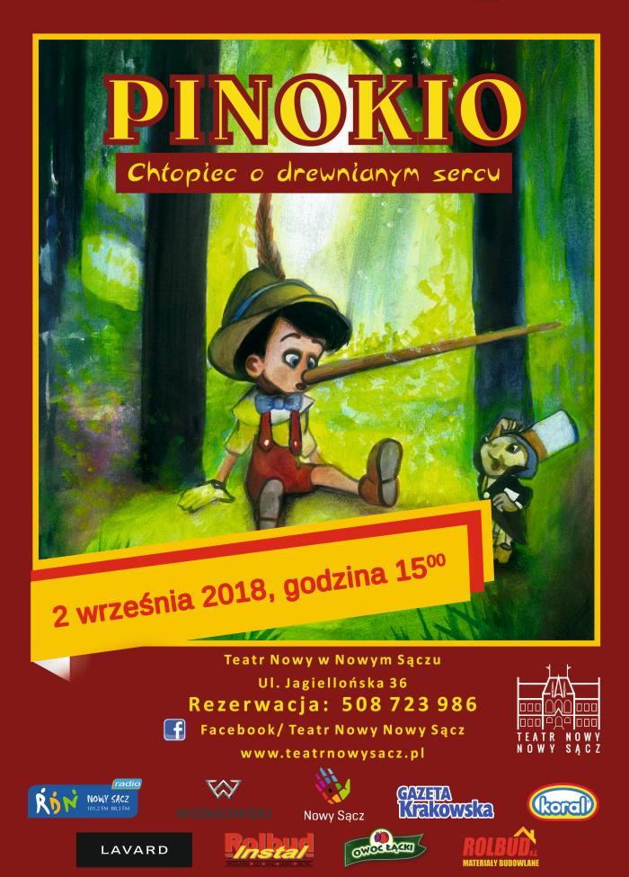 Pinokio – spektakl w Teatrze Nowym!