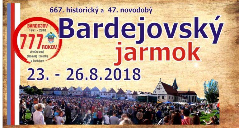 Jarmark  Bardejowski  już od jutra
