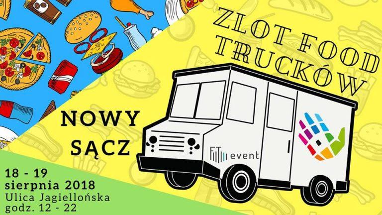 II ZLOT Food Trucków w Nowym Sączu! Pyszności już jadą!
