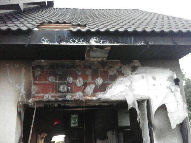 Kolejny pożar domu. Tym razem w gminie Chełmiec