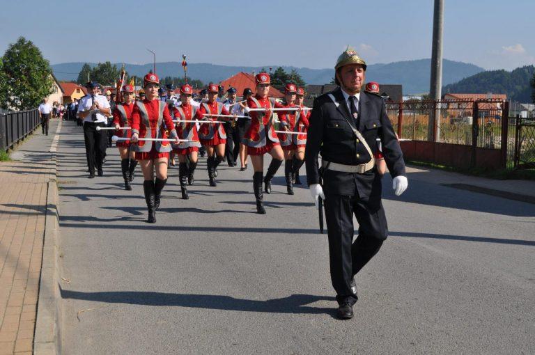 Nasi strażacy uświetnili uroczystości słowackich druhów [film, zdjęcia]