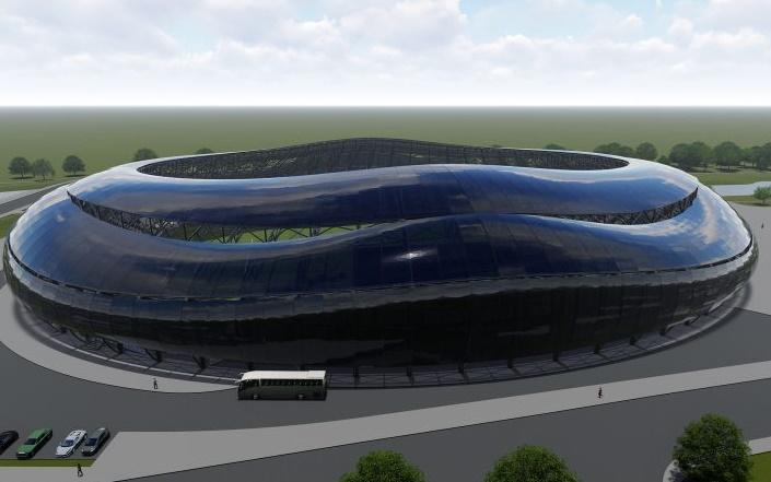O co chodzi z wizualizacją stadionu Sandecji?
