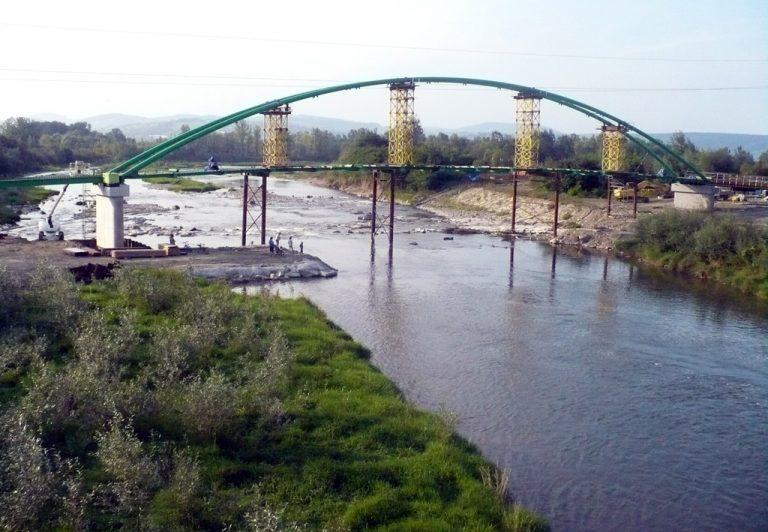 Stary Sącz: most dla rowerzystów prezentuje się okazale