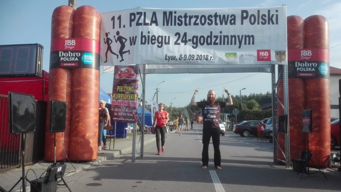 Karol Trojan pobił rekord Polski boso!