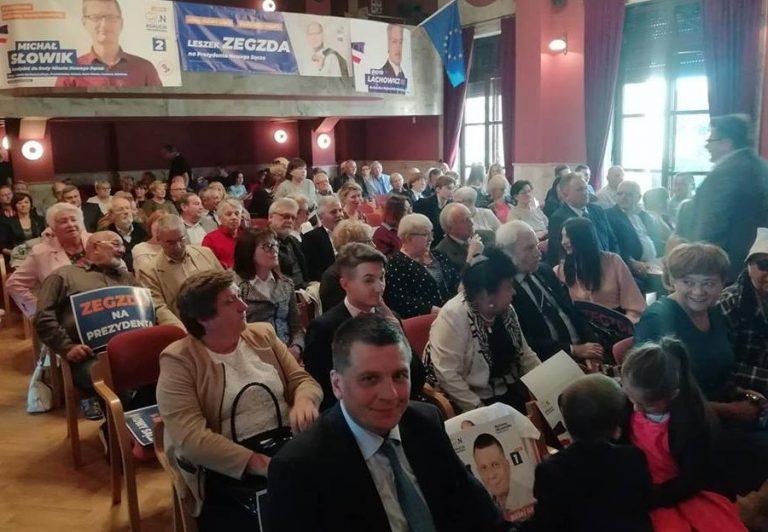 Konwencja Koalicji Obywatelskiej. Leszek Zegzda obiecał mosty na rzekach i mosty życzliwości