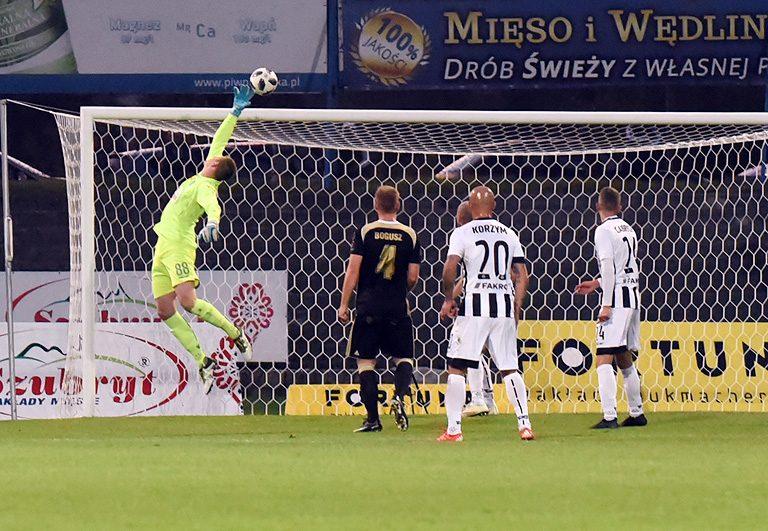 Szczęśliwy remis Sandecji. Kazimierz Moskal zabrał jeden punkt.