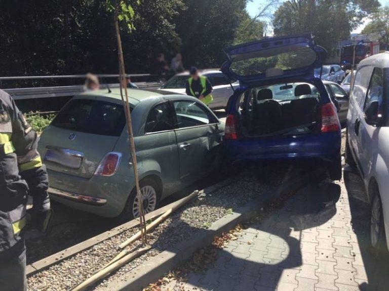 """""""Mistrz parkowania"""" uszkodził cztery inne samochody"""