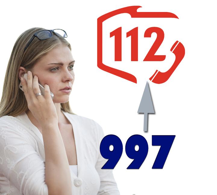 WAŻNE! Od października numer 997 nie łączy z sądecką Policją. Odbierze go CPR w Krakowie