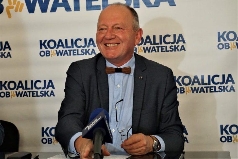 """Leszek Zegzda obiecuje park wodny na """"Skałkach"""" i bulwary nad rzekami"""