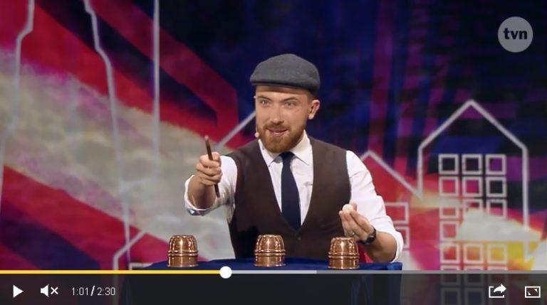 Michał Kulik, iluzjonista z Nowego Sącza oczarował jury w Mam Talent