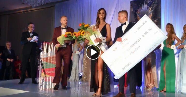 Z ostatniej chwili: Laura Szafrańska z czterema tytułami w konkursie Miss Polonia Illinois [film]