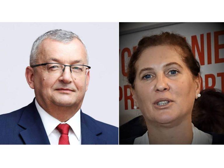 Iwona Mularczyk i minister Adamaczyk obiecali obwodnicę Chełmca i szynobus