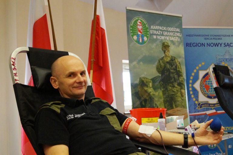 Nowy Sącz: Przelewali krew z uśmiechem na ustach
