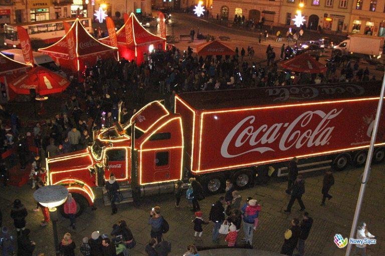 To już pewne! Świąteczna ciężarówka zaparkuje na nowosądeckim Rynku