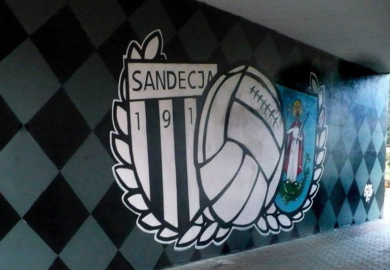 Jest nowy mural dla Sandecji