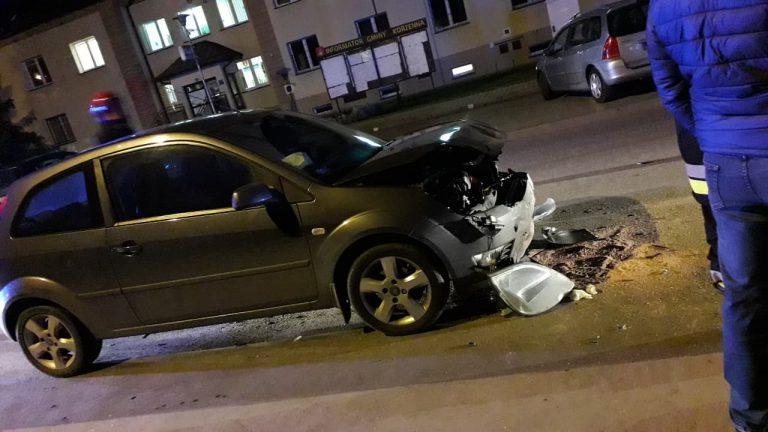Z ostatniej chwili: zderzenie trzech samochodów. Są osoby poszkodowane