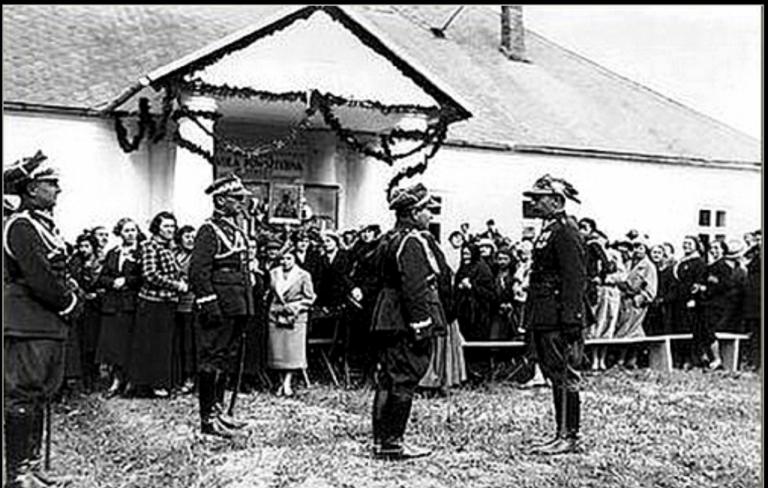 Stróża: kolebka odzyskania niepodległości. Tu wykładał sam Piłsudski