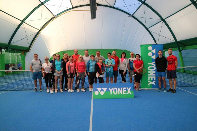 Tenis ziemny. II Turniej miksta – Demo Day Yonex