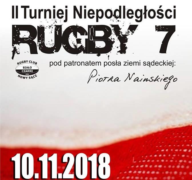 Rugby. II Turniej Niepodległości w Nowym Sączu