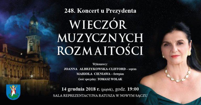 Muzyczny wieczór u prezydenta Ludomira Handzla