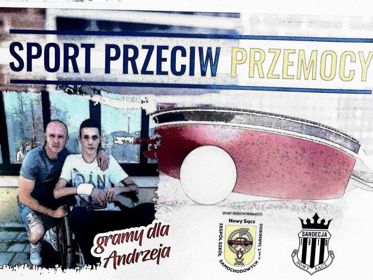 """Gramy dla Andrzeja – Sport przeciw Przemocy. Sandecja i """"Samochodówka"""" organizują turniej"""