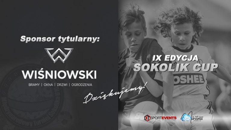 Turniej Sokolika ma nowego sponsora! I to jakiego