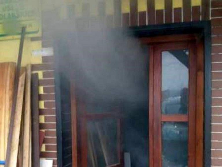 Pożar w kotłowni. W domu znajdował się też zakład stolarski