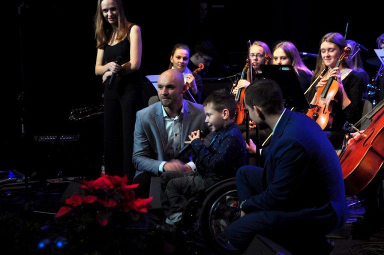 Słowa chorego Bartusia to największa nagroda dla organizatorów i artystów wyjątkowego koncertu