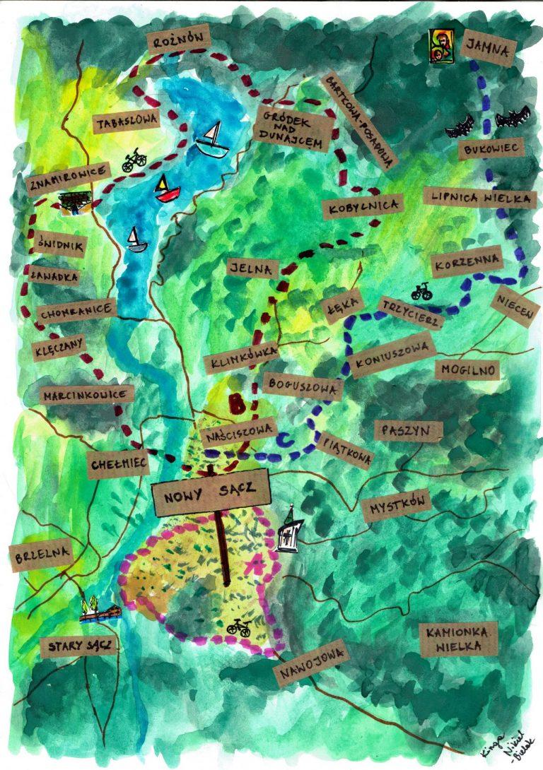 Sądecka Mapa Rowerowa II – znamy zwycięzców!