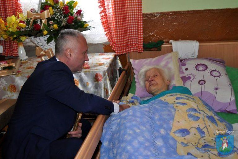 Bronisława Łukasik obchodzi 100. urodziny