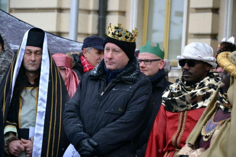 Trzej Królowie dotarli dziś do Nowego Sącza
