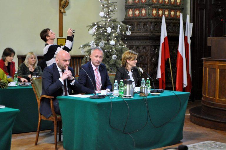 Trwa VI Sesja Rady Miasta Nowego Sącza