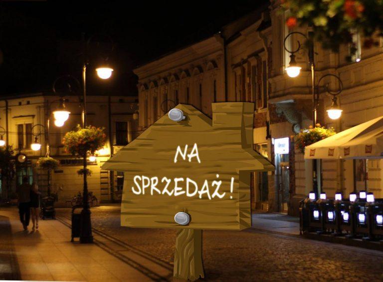 Miasto musi sprzedawać nieruchomości, żeby nie przeholować ze wskaźnikiem obsługi długu