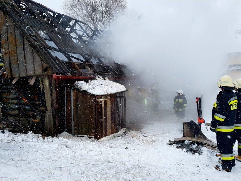 Mirosław w pożarze stracił wszystko. Pilnie potrzebuje pomocy